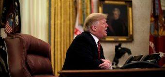 La paralización de la Administración seguirá hasta que haya un acuerdo sobre el muro