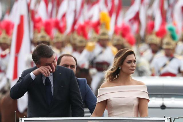 Bolsonaro lloró en el Rolls-Royce que lo trasladó a la ceremonia de asunción