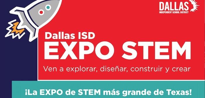 Regístrense ahora para la Expo STEM de Dallas ISD 2019