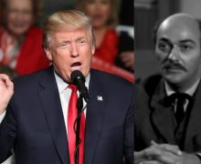 """En la serie """"Trackdown"""" había un personaje  llamado Trump que quería construir un muro"""
