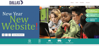 Dallas ISD launches new district homepage
