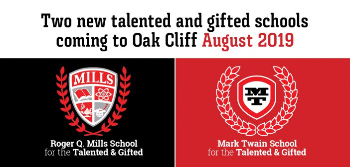 Two new talented and gifted schools opening in Oak Cliff in August 2019
