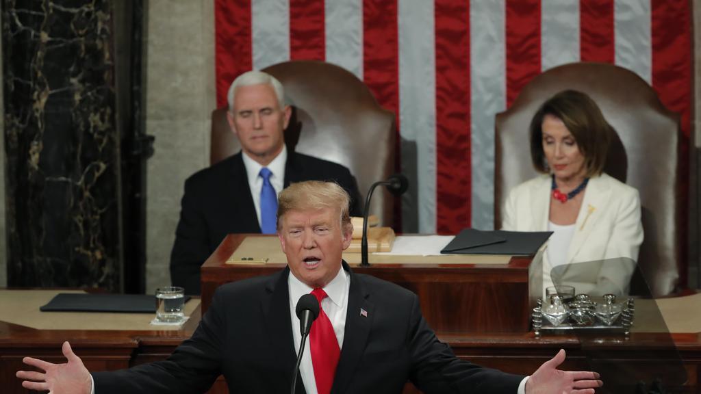Trump, el rey de la división, pidió unidad