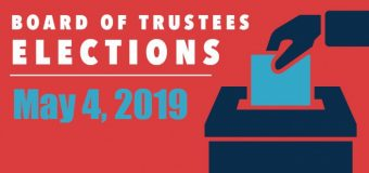 May 4 election includes three contested seats on Board of Trustees