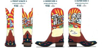 Dallas ISD student makes top 10  for Big Tex Boot Design contest
