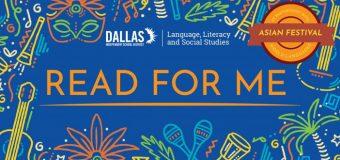 Regístrese para el evento gratuito de alfabetización  familiar 'Read for Me' el 23 de marzo