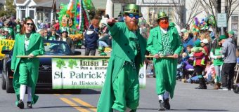 St. Patrick's Day Parade: Road  Closures