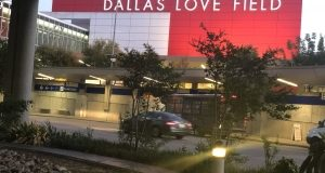 Flooded Parking Lots at Dallas Love Field Have Been Cleared Of Water