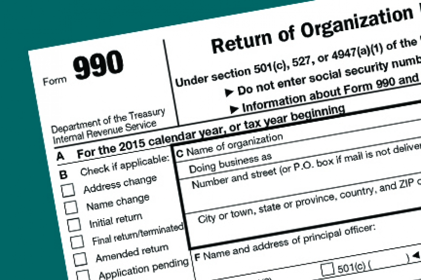 IRS warns against including personal data