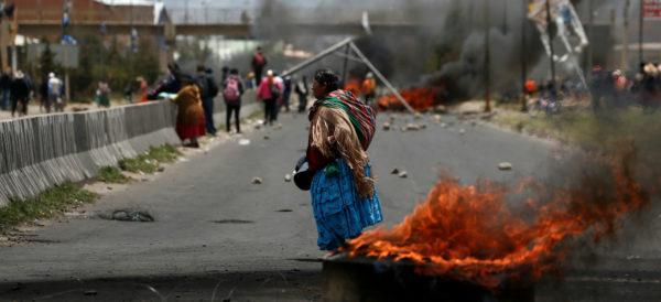 Reportan al menos 10 muertos en Bolivia  durante protestas en inmediaciones de YPFB