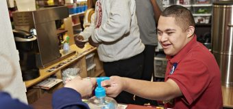 A Woodrow coffee cart is brewing bright futures for students with special needs