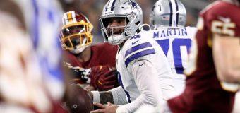 Cowboys quedan eliminados de los playoffs de la NFL