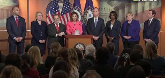NANCY Pelosi announces House  impeachment managers to prosecute case against Trump