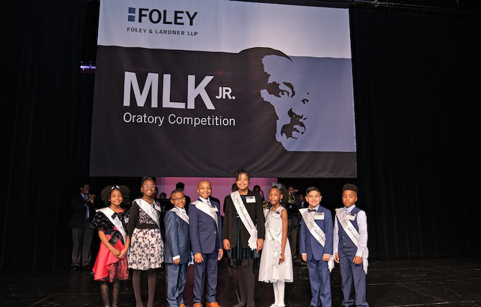 Inspiring speech earns Starks student first  place in annual MLK Jr. Oratory Competition