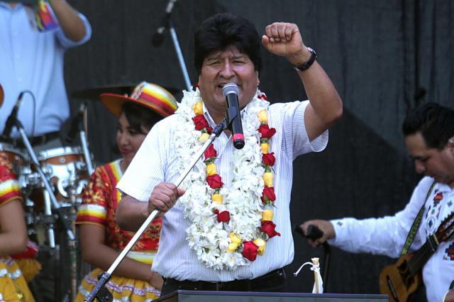 Postulación de Evo Morales al senado genera inquietud