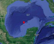 La isla fantasma que arrebató a México sus  aspiraciones petroleras sobre el Golfo de México