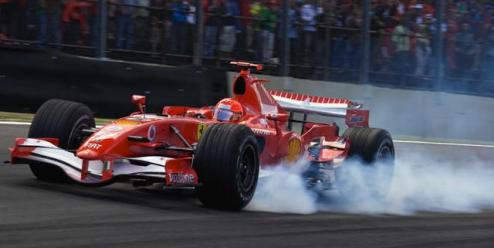 ¿Cómo frena un monoplaza de F1?