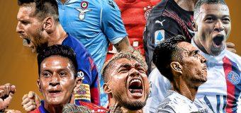 Vela es líder de goleo mundial por encima  de Messi  y Cristiano