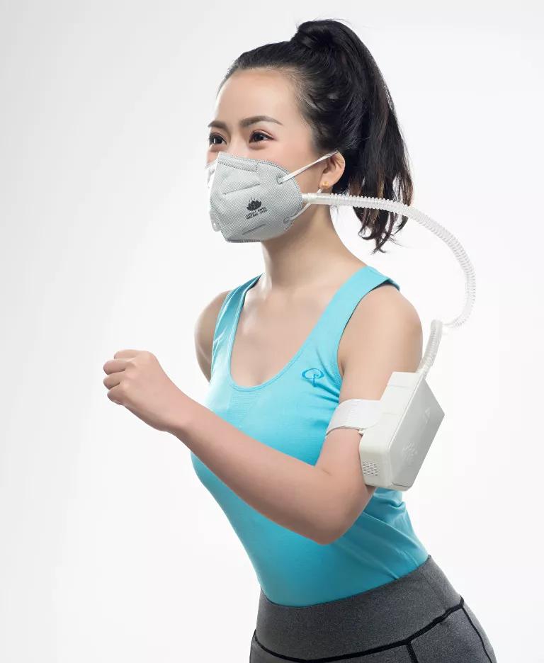 Científicos chinos desarrollan  Mascarilla Inteligente Antivirus