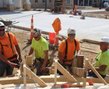 Construction employment slips by 20,000 in May as  supply-chain problems and record materials cost  increases plague nonresidential contractors