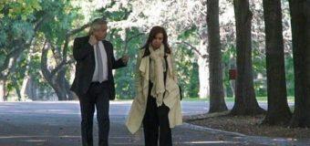El Presidente recibe a Cristina Kirchner en medio de las tensiones internas
