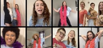 Super Troupers: Woodrow students digitally collaborate to showcase songs from planned spring musical, 'Mamma Mia'