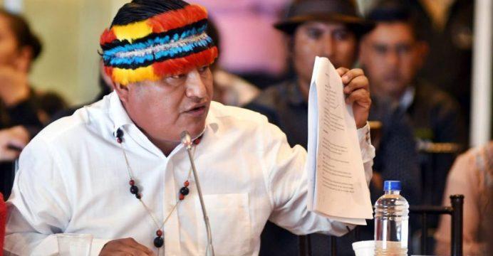 Indígenas en Ecuador advierten con  medidas si Gobierno elimina subsidios