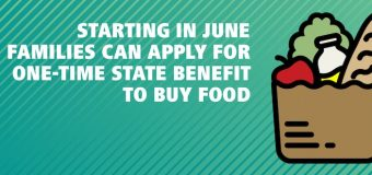 Starting in June Families can Apply for One-Time State Benefit to Buy Food
