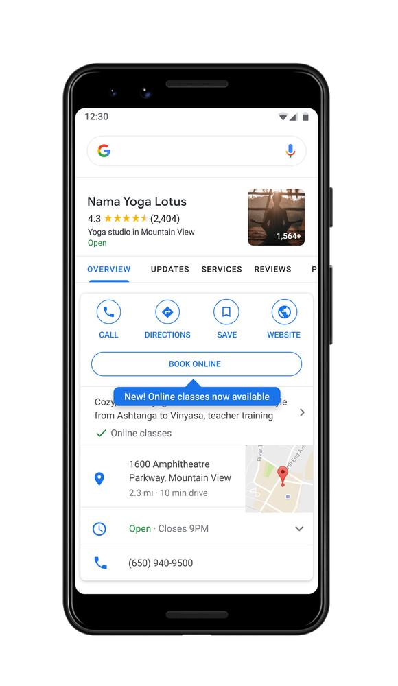 Las nuevas herramientas de Google ayudan a las empresas durante COVID-19