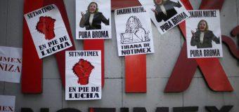 NOTIMEX obligada a acatar una huelga  para desescalar el conflicto laboral