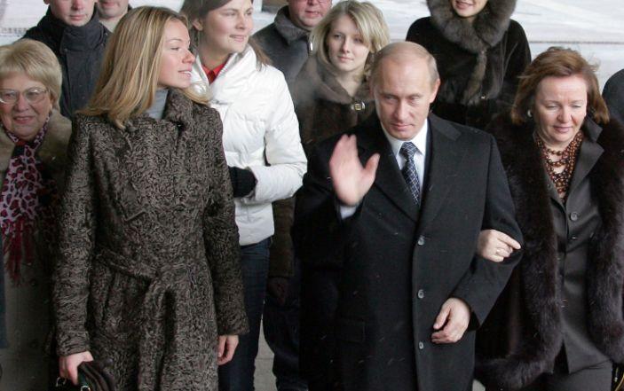 La vida desconocida, lejos de los focos, de las hijas de Vladimir Putin
