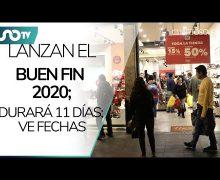 Lanzan el Buen Fin 2020; durará 11 días
