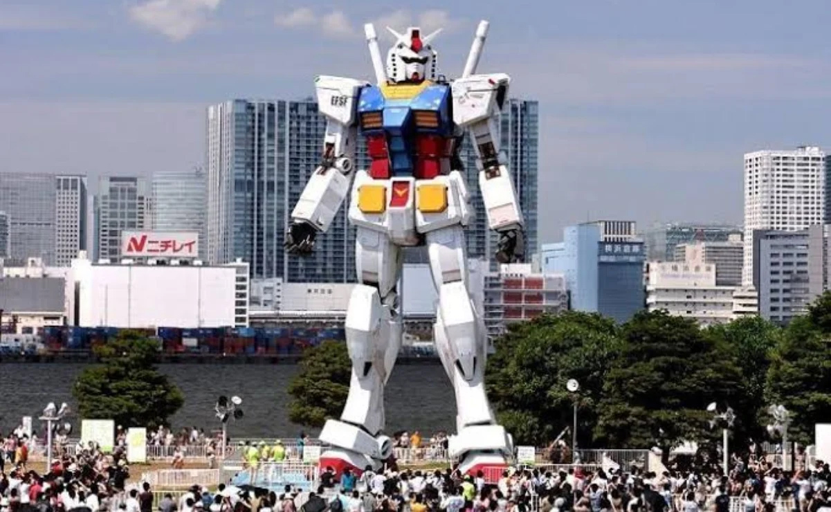 Gundam RX,  el robot más grande  del mundo, da sus  primeros pasos  en Japón