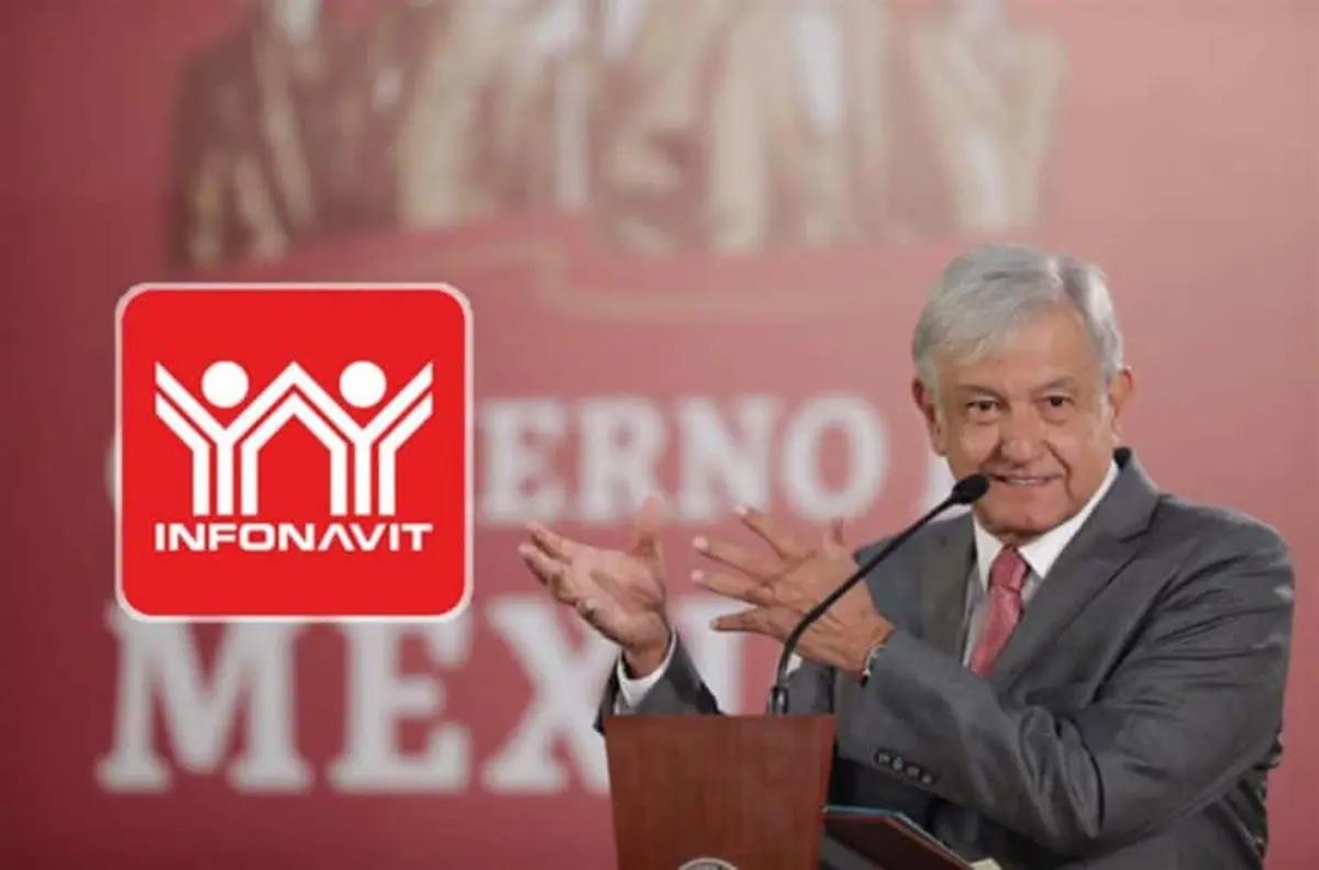 """AMLO adelanta """"un buen acuerdo"""" con el Infonavit"""