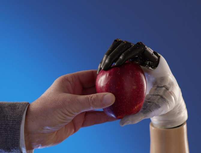La mano robótica protésica Hannes