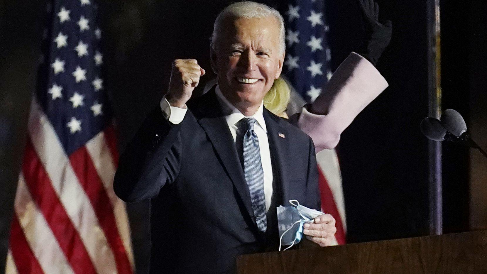 Colegio Electoral:  Joe Biden: 290,  Donald Trump:  217
