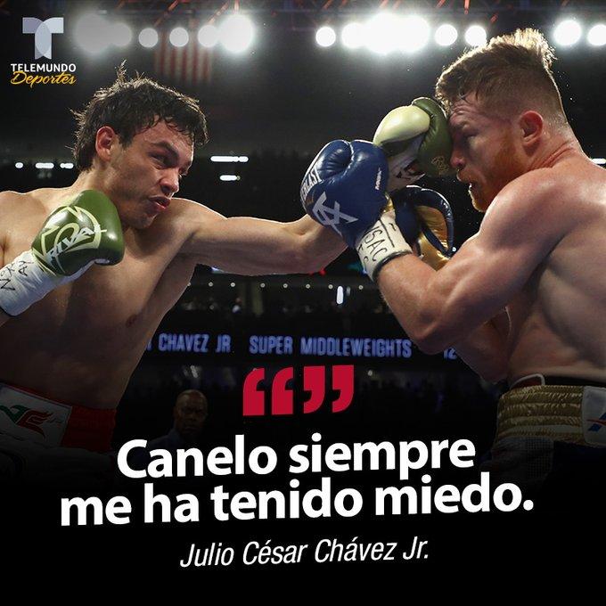 JC Chávez Jr. asegura que el Canelo le tiene miedo