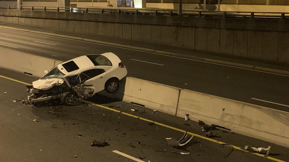 1 Dead in Wrong-Way Crash  on Dallas North Tollway