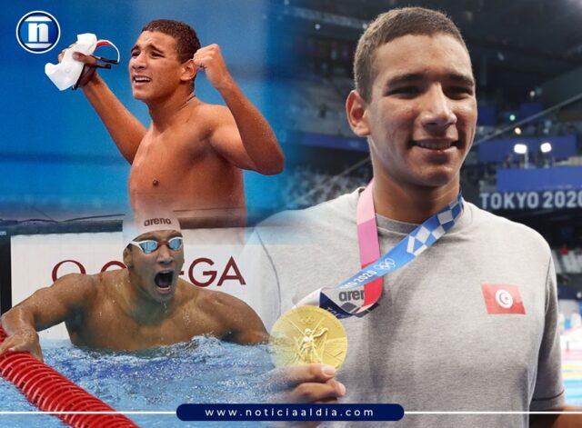 Ahmed Hafnaoui, joven tunecino de 18 años, dio el golpe a la cátedra en la natación