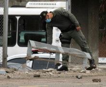 Explosión en estación de policía deja 13 heridos