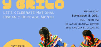 Oak Cliff Coalition for the Arts will Kick Off National Hispanic Heritage Month with Canto y Grito