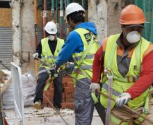 One-Third of Metro Areas lost construction  jobs  between august 2020 and 2021 as fate  bipartisan infrastructure bill remains unclear