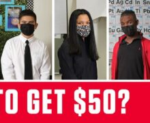 Want to get $50?  –  Student Vaccine Incentive