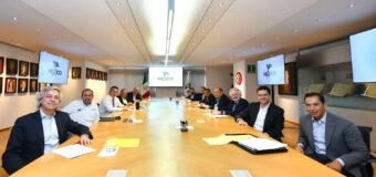 Dirigentes de PRI, PAN y PRD se reúnen para  ratificar la solidez en coalición 'Va por México'